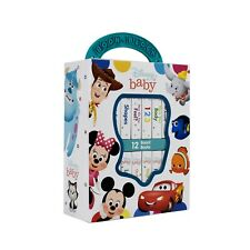 My First Library Disney Baby 12 Board Books Children Box Set - 9781503721760
