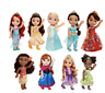 Disney Princess Tea Time Toddler Doll - Elsa Anna Ariel Jasmine Rapunzel Tiana