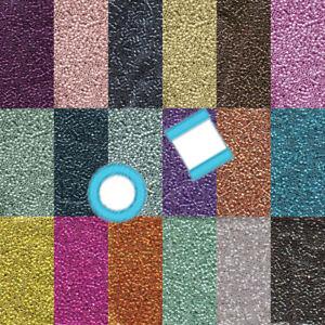 Miyuki Delica 11/0 7 grams 1200 Glass Seed Beads Galvanized 55 colors U-Pick