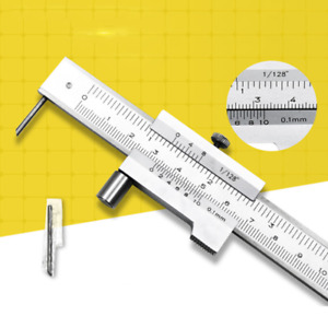 Stainless Steel Gauge 0-200mm Vernier Caliper Micrometer Measuring Tool New