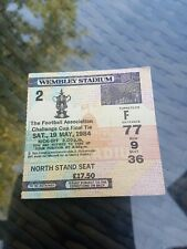 RARE EVERTON v WATFORD FACUP FINAL TICKET 1983/84
