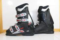 Nordica B Multi Macro Black Red Used Ski Boots 27.0 Mondo - WB26