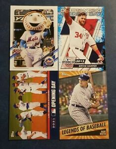 2021 Topps Opening Day Inserts with Hall of Famers You Pick