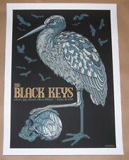 Black Keys Austin City Limits Concert Poster Print Todd Slater Signed Numbered