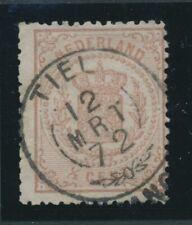 NR. 13 PRACHT EXEMPLAAR MET FRANCO TAKJE TIEL 12 MRT 72   Zk234