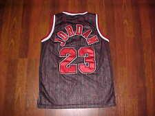 Nike NBA 1984 Flight 8403 Chicago Bulls Michael Jordan 23 Boys Black Jersey XL