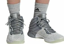 ADIDAS MAD BOUNCE 2018 GREY SILVER METALLIC SNEAKERS AH2694  MEN'S SHOES SIZE 14
