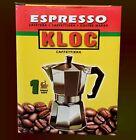 Cafetera KLOC Espresso Latte Coffeemaker Expresso Mini 1 taza