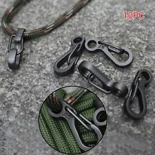 10Pcs/Lot EDC Gear Mini Snap Spring Clip Hook Carabiners Outdoor Survival Tool