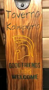 Personalised Bar Signs -  Bottle Openers - Handmade - Unique Design