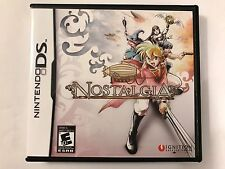 Nostalgia - Nintendo DS - Replacement Case - No Game