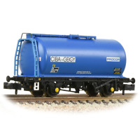 Graham Farish 373-782 N Gauge BR 45t TTA Wagon 'Ciba-Geigy' Blue