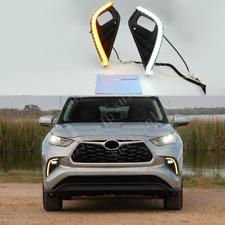 For 2020-21 Toyota Highlander LED DRL Daytime Running Lights/ Turn Signal Light