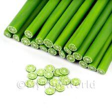 3x Lime fatto a mano CANE stile 1-NAIL ART (11nc62)