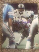 John Fitzgerald autographed 8x10 Dallas Cowboys Gdst Hologram