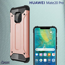 Rose Gold Tough Armor Heavy Duty Shock Proof Case Cover For Huawei Mate 20 Pro