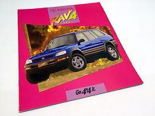 1997 Toyota RAV4 Brochure