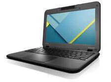 Lenovo N22 11.6 inch HD Chromebook Laptop Black + FREE CASE