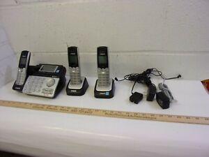 VTECH DS6151 DECT 6.0 2 LINE CORDLESS PHONE + 2 CORDLESS HANDSETS