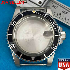NEW 39.5MM Retro Glass Watch Case Metal Case for NH35 NH36 Mechanical Movement