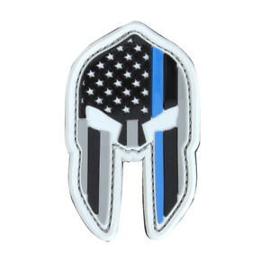 Condor Spartan Thin Blue Line Morale Patch - Hook and Loop