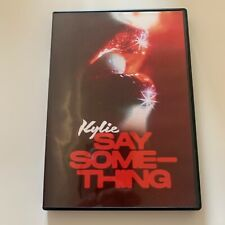 """Kylie Minogue """"Say Something"""" Promo-Only Music Video DVD Promo in Black Amaray"""