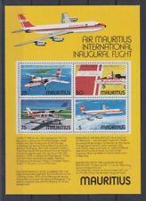 Aircraft Mauritius Block 6 (MNH)
