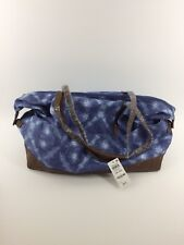 Style & Co | Weekender Tie-Dyed Canvas Duffel Bag | Blue | NWT $98.50