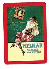 SM129 SINGLE swap playing cards MINT cigarette smoking HELMAR TURKISH CIGARETTES