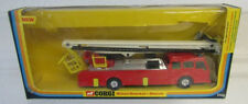 CORGI #1126 SIMON SNORKEL - DENNIS DIE-CAST FIRE ENGINE TRUCK 1977 BOX WEAR