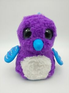 Hatchimals Penguala Penguin Purple White & Teal Electronic Toy. Tested, Works!