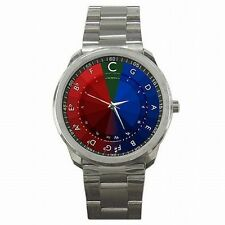 Circle of Fifths Musician Music Colorful Scale Stainless Steel Sport Watch New!