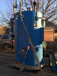 Fulton FB-300-L Electric Steam Boiler USED