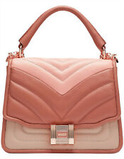 Mimco Prowess Day Bag Handbag Crossbody Leather Peach Gin Tag Dustbag