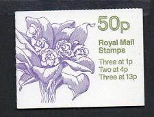 GB 1985 FB29 ORCHID SERIES 50P BOOKLET