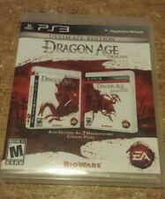Dragon Age Origins Ultimate Edition PS3 Playstation 3 Complete CIB EA Games M