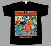 Melvins electroretard NEW BLACK SHORT/LONG SLEEVE T-SHIRT