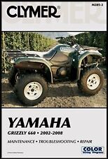 CLYMER YAMAHA GRIZZLY 660 YFM660 SERVICE REPAIR MANUAL
