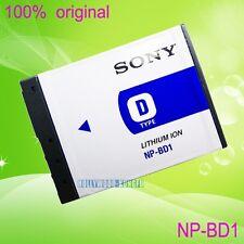 Genuine Original Sony NP-BD1 BC-CSD Battery DSC-T77/P DSC-T300 T700/N DSCTX1