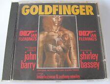 vb) Goldfinger James Bond John Barry Shirley Bassey OST Soundtrack 1988 CD