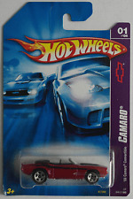 Hot Wheels - ´69 / 1969 Chevy Camaro Cabrio weinrotmet. Neu/OVP US-Card