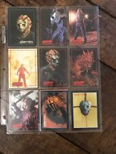 Rare Jason Voohrees Friday 13th Trading Cards JPP 1995 X10 1993