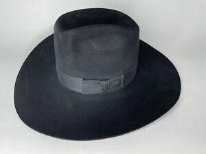 Stetson XXXX 4x Beaver Felt Cowboy Hat 7 3/4