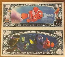 Disney Finding Nemo Million Dollar Bill