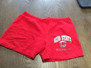 L The Cotton Exchange Vintage 90s Ohio State Athletic Jersey Basketball Shorts