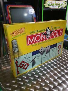 Monopoly Australian Edition - Complete - With Koala Token - 90s Retro Board Game