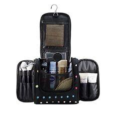 Hanging Makeup Cosmetic Bag, Large Portable Travel Toiletry Organizer Bag.
