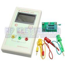 DANIU MK-328 Transistor Tester Capacitor ESR Inductance Resistor Meter LCR NPN P