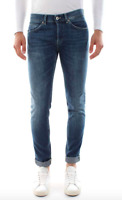 Dondup Jeans Uomo Mod. GEORGE UP232 DS0257 ( W36 ) , Nuovo e Originale