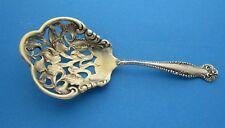 Towle Canterbury pattern Bon Bon Spoon Iris pattern Bowl Circa 1893